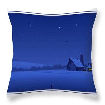 Evening Shade Throw Pillow