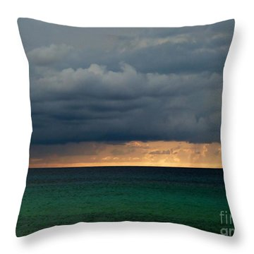 Evening Shadows Throw Pillow by Amar Sheow