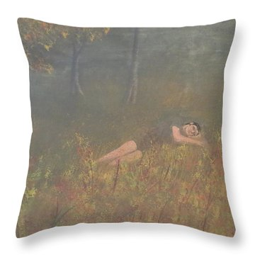 Evening Slumber Throw Pillow by Tim Townsend