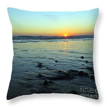 Evening Sunset Throw Pillow