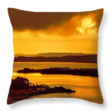Evensong Throw Pillow by Wallaroo Images