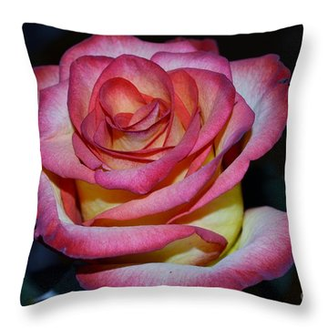 Event Rose Too Throw Pillow