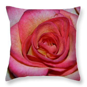 Event Rose Throw Pillow by Felicia Tica
