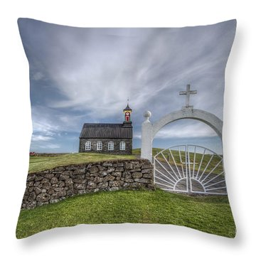 Ever Enchanted Throw Pillow by Evelina Kremsdorf