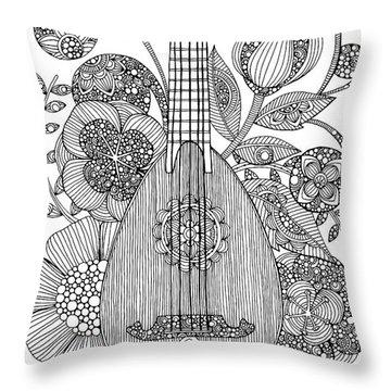 Ever Mandolin Throw Pillow