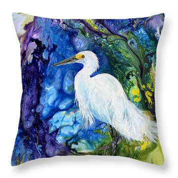 Everglades Fantasy Throw Pillow
