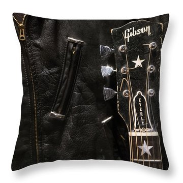 Everly Brothers Throw Pillow