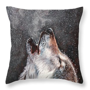 Every Breath I Take Throw Pillow
