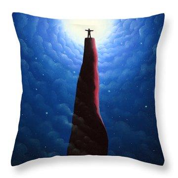 Every Man An Emperor Throw Pillow