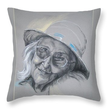 Everybodys Grandma Throw Pillow