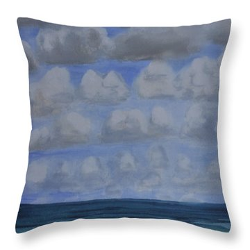Everyday Is A New Horizon Throw Pillow