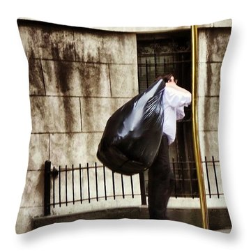 Hustlin Throw Pillow