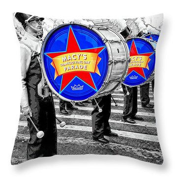 Everyone Loves A Parade Throw Pillow