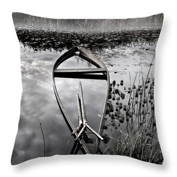 Everything Has Its Time Throw Pillow by Jorge Maia
