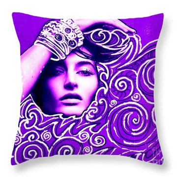 Everywhere You Look You See Yourself Throw Pillow