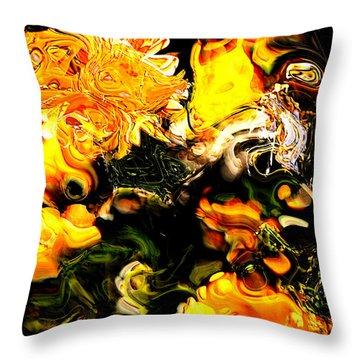 Ex Obscura Throw Pillow by Richard Thomas