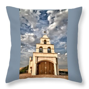 Exaltation Throw Pillow by Alice Cahill