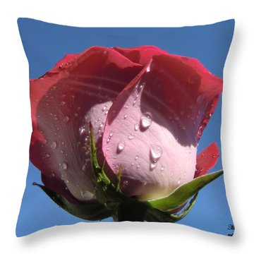 Excellence Centered  Throw Pillow