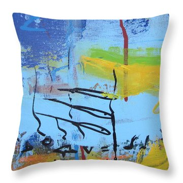 Excerp 1 From Joie Throw Pillow