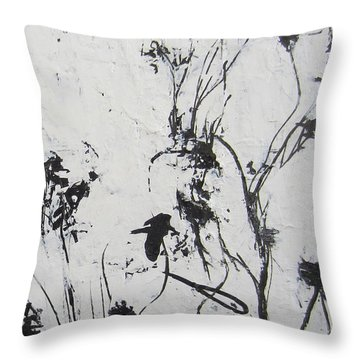 Excerpt 2 From Black And White 3 Throw Pillow