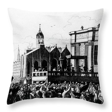 Grave Robbers Throw Pillows