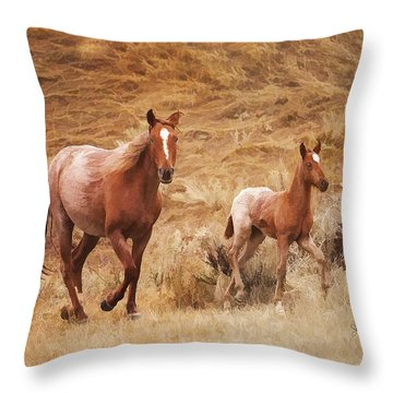 Exercise Throw Pillow