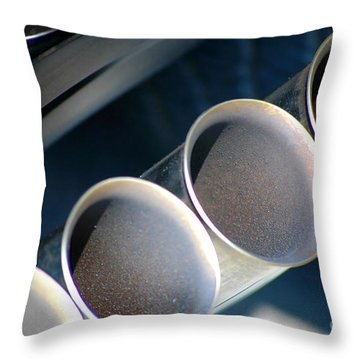 Throw Pillow featuring the photograph Exhuasted by Christiane Hellner-OBrien
