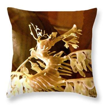 Exotic Sea Creature 6 Throw Pillow