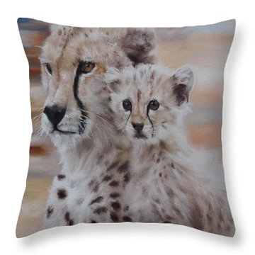 Expectation Throw Pillow by Cherise Foster