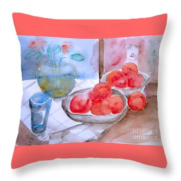 Expectation Throw Pillow by Jasna Dragun