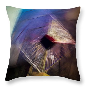 Throw Pillow featuring the photograph Explore The Galaxy With The New Allara Q-series by Alex Lapidus