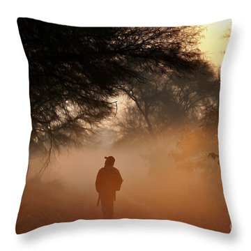 Explorer The Nature Throw Pillow