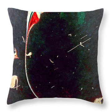 Throw Pillow featuring the painting Exploring New Depths by Jacqueline McReynolds
