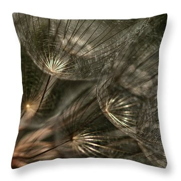 Explosion  Throw Pillow by Betty Depee