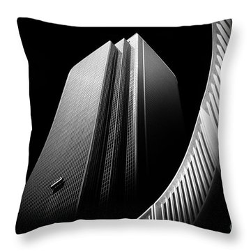 Express Elevator Throw Pillow