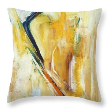 Expressions Throw Pillow by Mini Arora