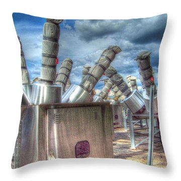 Exterminate - Exterminate Throw Pillow