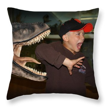 Extinct - My Ass Throw Pillow
