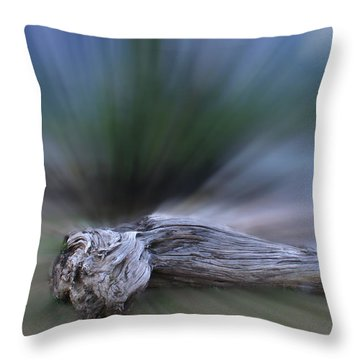 Extinction Rising Throw Pillow