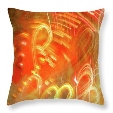 Extra Ball Time Throw Pillow