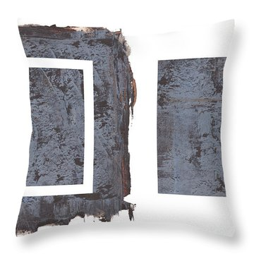 Extraction Vi Throw Pillow by Paul Davenport