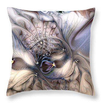 Extrinsic To Everything Throw Pillow