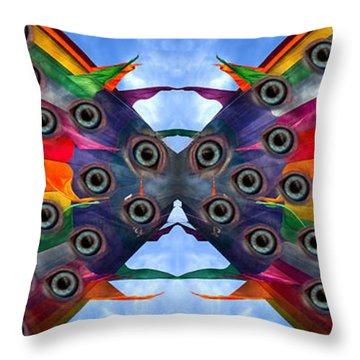 Eye Catching Throw Pillow