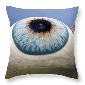 Eye Gigantus Throw Pillow