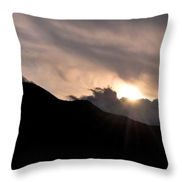 Throw Pillow featuring the photograph Eye In The Sky by Matt Harang