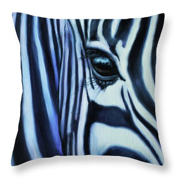 Eye Of Africa Throw Pillow