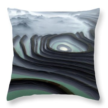 Eye Of The Minotaur Throw Pillow