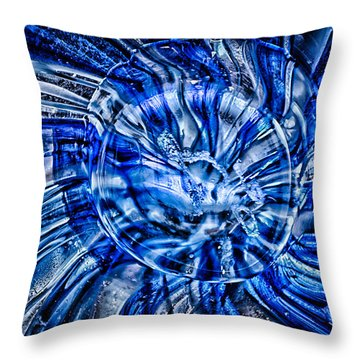 Eye Of The Storm Throw Pillow by Omaste Witkowski
