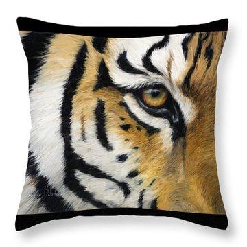 Siberian Tiger Throw Pillows