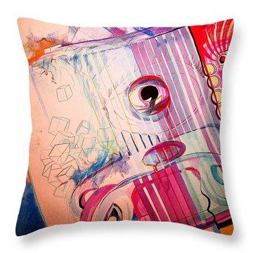 Eye On Art Throw Pillow